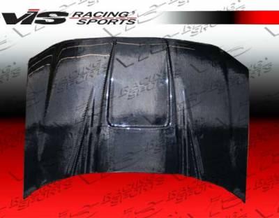 F150 - Hoods - VIS Racing - Ford F150 VIS Racing ZD Black Carbon Fiber Hood - 04FDF152DZD-010C