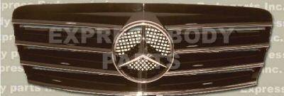 Grilles - Custom Fit Grilles - Custom - W210 Black Sport Grille