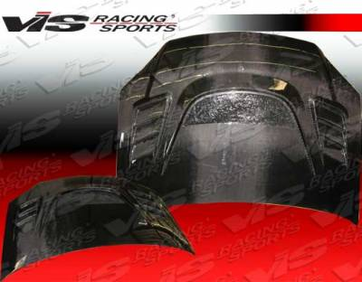 3 4Dr - Hoods - VIS Racing - Mazda 3 4DR VIS Racing G Speed Black Carbon Fiber Hood - 04MZ34DGS-010C