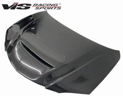 3 4Dr - Hoods - VIS Racing - Mazda 3 4DR VIS Racing M-Speed Carbon Fiber Hood - 04MZ34DMSP-010C
