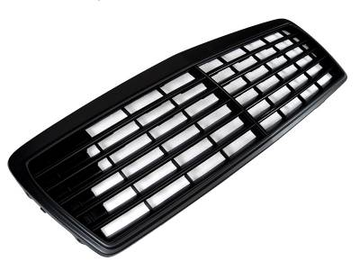 Grilles - Custom Fit Grilles - Custom - W210 Black Out Front Grille