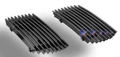 Grilles - Custom Fit Grilles - APS - Ford F450 APS Billet Grille - Bumper - Stainless Steel - F85096S