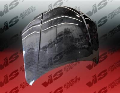 3 4Dr - Hoods - VIS Racing - Mazda 3 4DR VIS Racing OEM Black Carbon Fiber Hood - 04MZ34DOE-010C