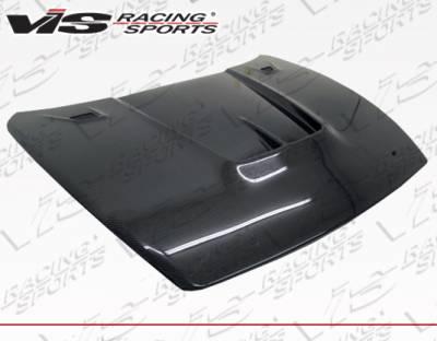 RX8 - Hoods - VIS Racing - Mazda RX-8 VIS Racing JS Carbon Fiber Hood - 04MZRX82DJS-010C