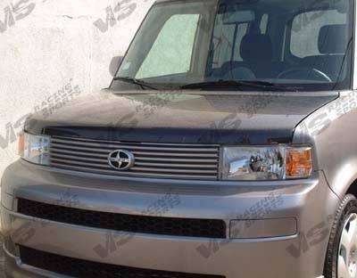 XB - Hoods - VIS Racing - Scion xB VIS Racing OEM Black Carbon Fiber Hood - 04SNXB4DOE-010C