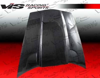 Corvette - Hoods - VIS Racing - Chevrolet Corvette VIS Racing Penta Black Carbon Fiber Hood - 05CHCOR2DPEN-010C