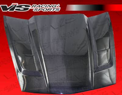 Corvette - Hoods - VIS Racing - Chevrolet Corvette VIS Racing SCV Black Carbon Fiber Hood - 05CHCOR2DSCV-010C