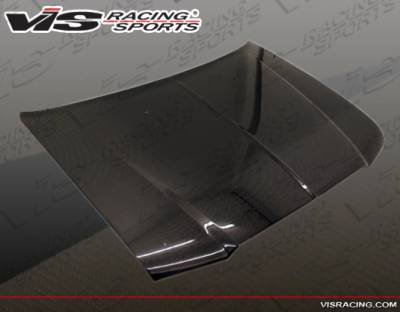 300 - Hoods - VIS Racing - Chrysler 300 VIS Racing OEM Black Carbon Fiber Hood - 05CY3004DOE-010C