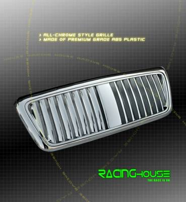 Grilles - Custom Fit Grilles - Custom - ABS ALL CHROME GRILLE