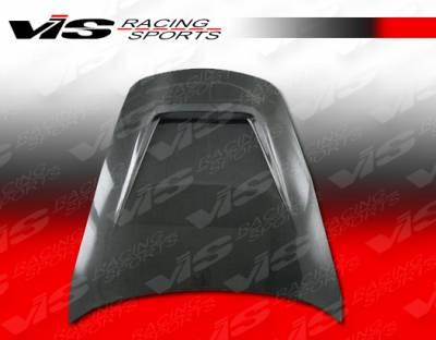 911 - Hoods - VIS Racing - Porsche 911 VIS Racing G Tech Black Carbon Fiber Hood - 05PS9972DGTH-010C