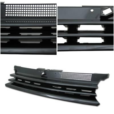 Grilles - Custom Fit Grilles - Custom - Golf Black Front Grille
