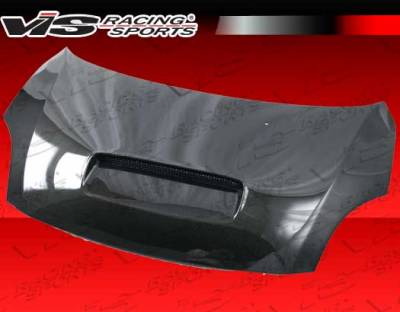Swift - Hoods - VIS Racing. - Suzuki Swift VIS Racing Techno R Black Carbon Fiber Hood - 05SZSWF4DTNR-010C
