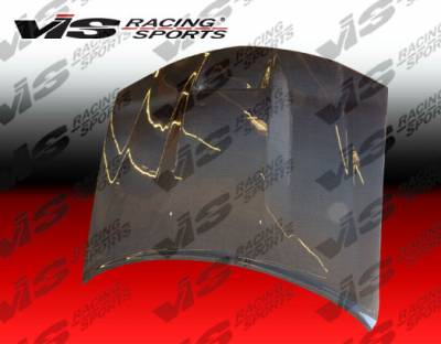 Charger - Hoods - VIS Racing - Dodge Charger VIS Racing SRT Black Carbon Fiber Hood - 06DGCHA4DSRT-010C