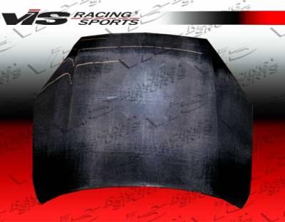Fusion - Hoods - VIS Racing - Ford Fusion VIS Racing OEM Black Carbon Fiber Hood - 06FDFUS4DOE-010C