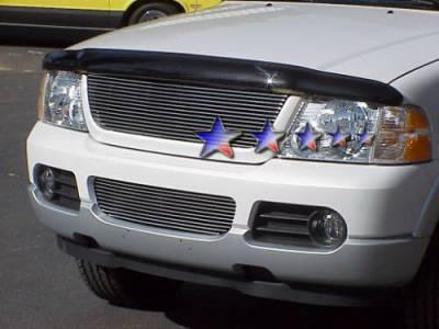 Grilles - Custom Fit Grilles - APS - Ford Explorer APS Billet Grille - Bumper - Aluminum - F85332A