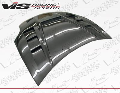 Eclipse - Hoods - VIS Racing - Mitsubishi Eclipse VIS Racing Monster GT Carbon Fiber Hood - 06MTECL2DMGT-010C