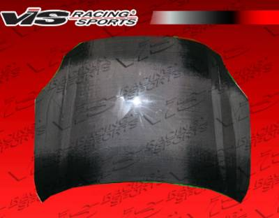 Milan - Hoods - VIS Racing - Mercury Milan VIS Racing OEM Black Carbon Fiber Hood - 06MYMIL4DOE-010C