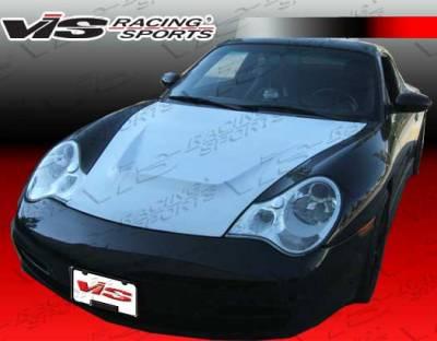 Cayman - Hoods - VIS Racing - Porsche Cayman VIS Racing G-Tech Style Fiberglass Hood - 06PSCAM2DGTH-010