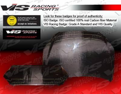 Rav 4 - Hoods - VIS Racing - Toyota Rav 4 VIS Racing OEM Style Carbon Fiber Hood - 06TYRAV4DOE-010C