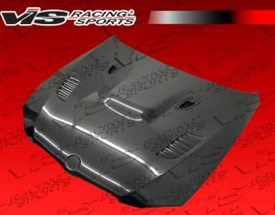 3 Series 4Dr - Hoods - VIS Racing - BMW 3 Series VIS Racing XTS Black Carbon Fiber Hood - 07BME92M32DXTS-010C