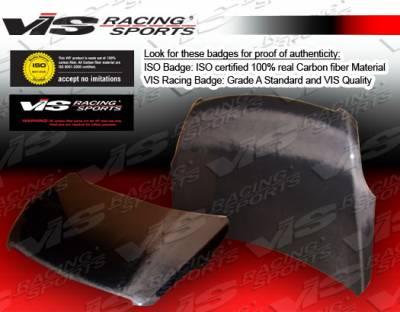 Altima - Hoods - VIS Racing - Nissan Altima VIS Racing OEM Black Carbon Fiber Hood - 07NSALT4DOE-010C