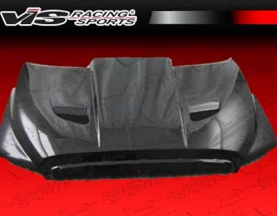 Tundra - Hoods - VIS Racing - Toyota Tundra VIS Racing Blade Black Carbon Fiber Hood - 07TYTUN2DBLD-010C