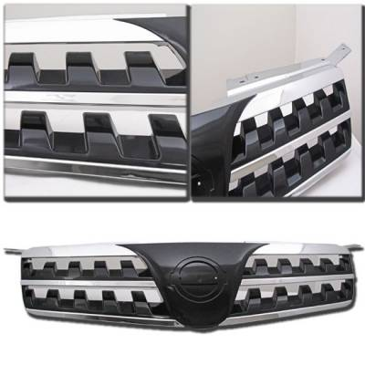 Grilles - Custom Fit Grilles - Custom - NISSAN MAXIMA BLACK SPORT FRONT GRILLE