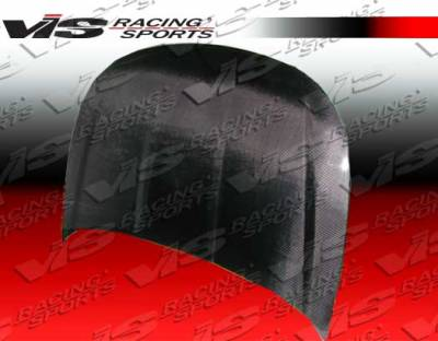 Focus ZX3 - Hoods - VIS Racing - Ford Focus VIS Racing OEM Black Carbon Fiber Hood - 08FDFOC2DOE-010C