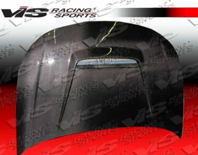 Focus ZX3 - Hoods - VIS Racing - Ford Focus VIS Racing Invader Black Carbon Fiber Hood - 08FDFOC2DVS-010C