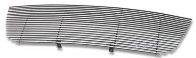 Grilles - Custom Fit Grilles - APS - Ford Expedition APS Billet Grille - Upper - Stainless Steel - F85372S