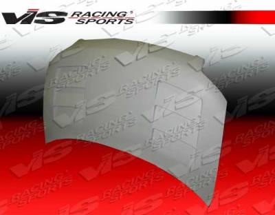 XB - Hoods - VIS Racing - Scion xB VIS Racing Terminator - Fiberglass Hood - 08SNXB4DTM-010