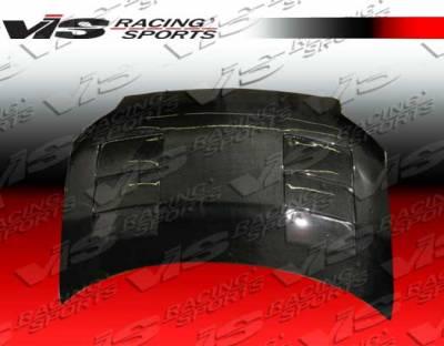 XB - Hoods - VIS Racing - Scion xB VIS Racing Terminator Black Carbon Fiber Hood - 08SNXB4DTM-010C