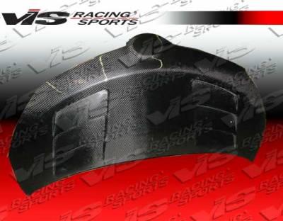 xD - Hoods - VIS Racing - Scion xD VIS Racing Terminator Black Carbon Fiber Hood - 08SNXD4DTM-010C