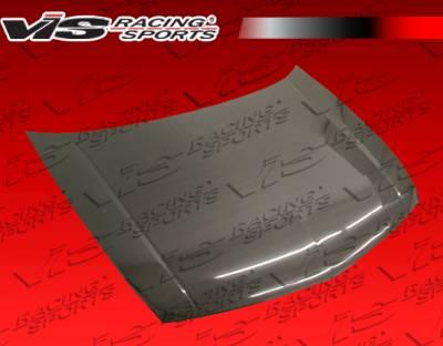 TSX - Hoods - VIS Racing - Acura TSX VIS Racing OEM Black Carbon Fiber Hood - 09ACTSX4DOE-010C