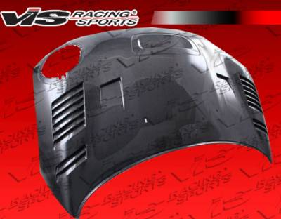 Cooper - Hoods - VIS Racing - Mini Cooper VIS Racing DTM Black Carbon Fiber Hood - 09BMMCSCVDTM-010C
