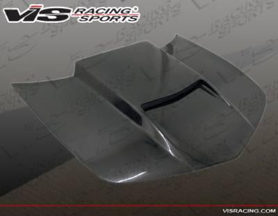 Camaro - Hoods - VIS Racing - Chevrolet Camaro VIS Racing Viper Black Carbon Fiber Hood - 10CHCAM2DVR-010C