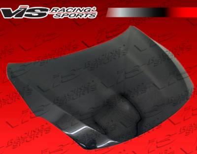 Altima - Hoods - VIS Racing - Nissan Altima VIS Racing OEM Black Carbon Fiber Hood - 10NSALT2DOE-010C