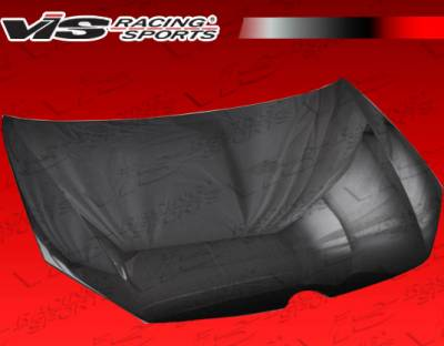 Golf - Hoods - VIS Racing - Volkswagen Golf VIS Racing OEM Black Carbon Fiber Hood - 10VWGOF2DOE-010C