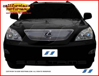 Grilles - Custom Fit Grilles - Custom - Lexus RX Chrome Billet Grille