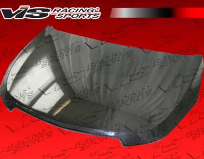 Cruze - Hoods - VIS Racing - Chevrolet Cruze VIS Racing OEM Black Carbon Fiber Hood - 11CHCRU4DOE-010C