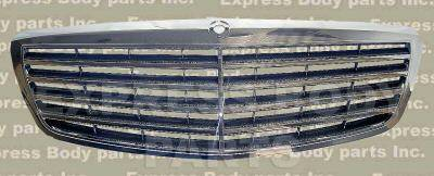 Grilles - Custom Fit Grilles - Custom - W221 S550 S65 Grille