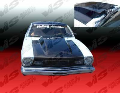 Maverick - Hoods - VIS Racing - Ford Maverick VIS Racing Cowl Induction Carbon Fiber Hood - 70FDMAV2DCL-010C