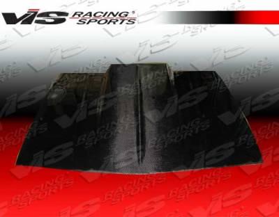Camaro - Hoods - VIS Racing - Chevrolet Camaro VIS Racing Cowl Induction Black Carbon Fiber Hood - 82CHCAM2DCI-010C