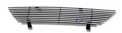Grilles - Custom Fit Grilles - APS - Ford Mustang APS Billet Grille - Upper - Stainless Steel - F86009S