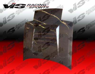 RX7 - Hoods - VIS Racing - Mazda RX-7 VIS Racing Drift Black Carbon Fiber Hood - 86MZRX72DDFT-010C