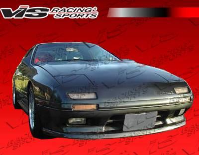 RX7 - Hoods - VIS Racing - Mazda RX-7 VIS Racing OEM Black Carbon Fiber Hood - 86MZRX72DOE-010C