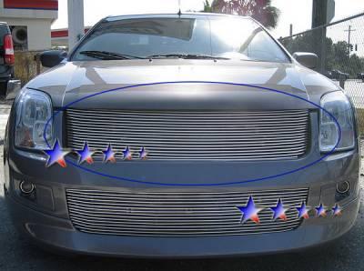 Grilles - Custom Fit Grilles - APS - Ford Fusion APS Billet Grille - Upper - Aluminum - F86493A