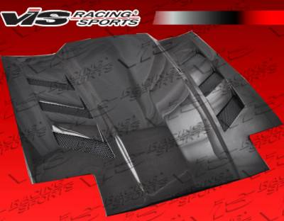 Supra - Hoods - VIS Racing - Toyota Supra VIS Racing AMS Black Carbon Fiber Hood - 86TYSUP2DAMS-010C