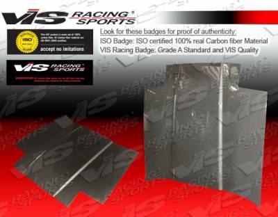 Supra - Hoods - VIS Racing - Toyota Supra VIS Racing OEM Black Carbon Fiber Hood - 86TYSUP2DOE-010C