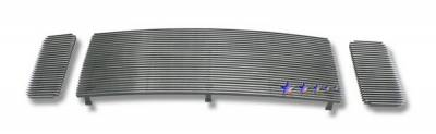 Grilles - Custom Fit Grilles - APS - Ford F250 APS Billet Grille - Upper - Aluminum - F86621A